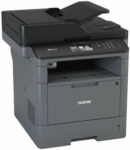 历史新低!Brother MFC-L5700DW 商务系列 多功能 黑白无线 激光打印机4.6折 199.99加元包邮!会员专享!