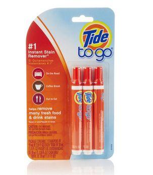 Tide to Go 汰渍便携速效去污笔3支装 8.49加元