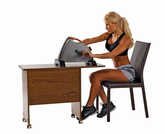 历史新低!Impex Marcy 手脚两用便携式迷你自行车健身机6折 58.8元限时特卖并包邮!