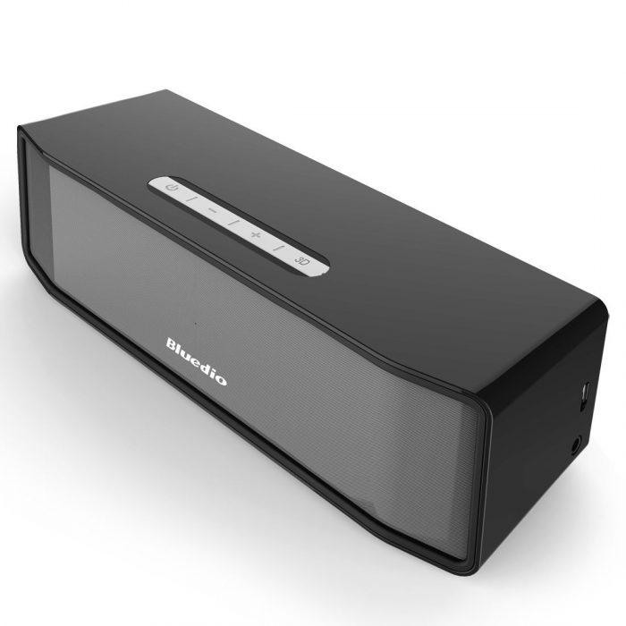 3D立体环绕音效!蓝弦Bluedio BS-2 飓风系列便携式迷你蓝牙音箱3折19.99元限量特卖并包邮!