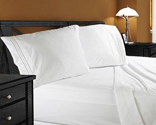 Clara Clark Premier 1800 Collection Queen 床单枕套4件套2.4折 26.95元限时特卖并包邮!