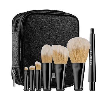 Sephora 丝芙兰旅行化妆刷套装 39元特卖,原价 70元