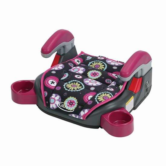 历史最低价!Graco Colorz 儿童汽车安全座椅5.8折 28元限时特卖并包邮!