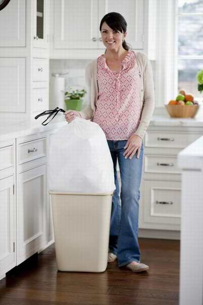 Glad OdorShield 13加仑超大花香垃圾袋80件套2.2折 16.53元限时特卖!