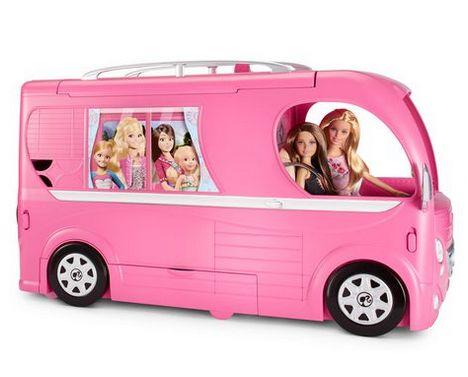Barbie 芭比弹出式露营车 50元,原价 99.97元,包邮