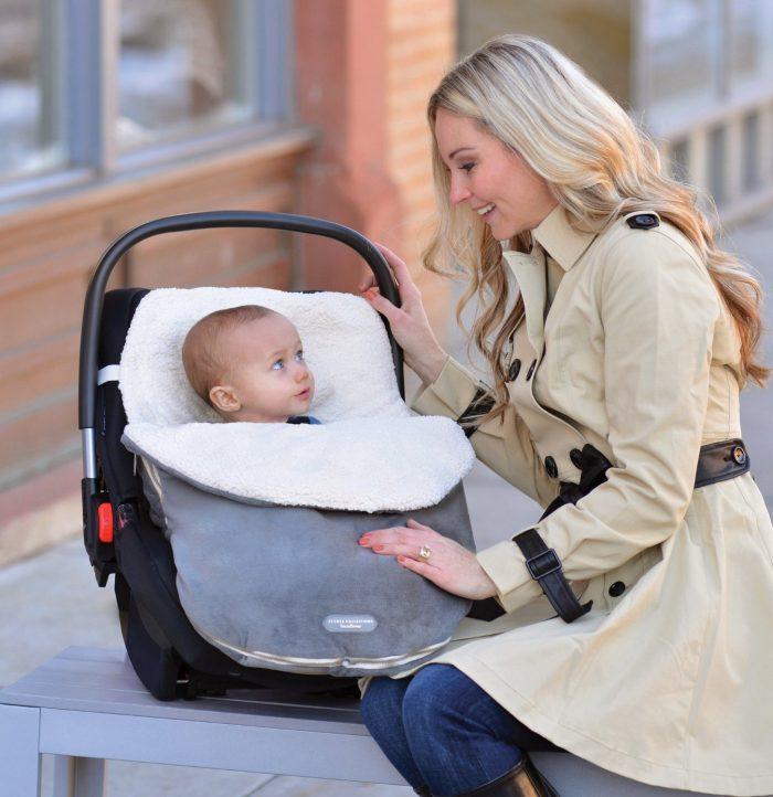 JJ Cole Original Infant Bundleme婴儿推车/提篮保暖袋 39.98元(3色可选),原价 49.95元,包邮