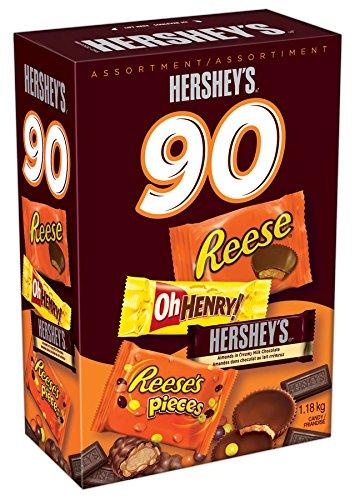 Hershey's  好时 万圣节巧克力糖果90支装 12.98元,原价 22.3元