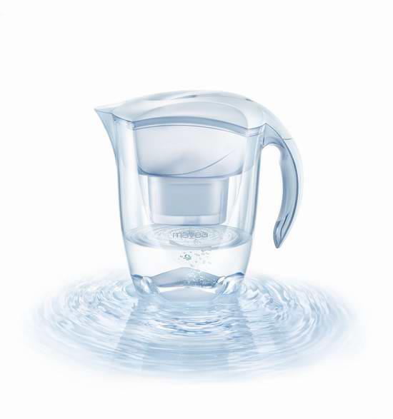 MAVEA 1001126 Elemaris 9杯超大容量滤水壶5.8折 29.99元限时特卖!