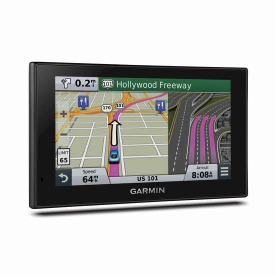 历史最低价!Garmin 佳明 nuvi 2689LMT 6英寸蓝牙车载GPS导航仪 219.99元限时特卖并包邮!