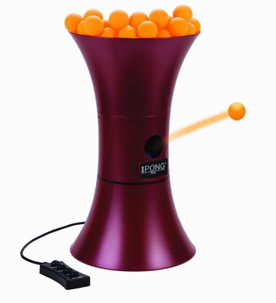 历史新低!iPong Pro 乒乓球发球机4.3折 119.99元限时特卖并包邮!