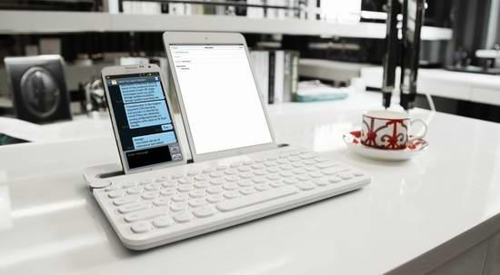 历史新低!Logitech 罗技 K480 白色多功能蓝牙键盘6.4折 44.83元限时特卖并包邮!