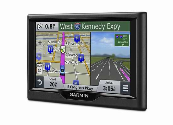 金盒头条:历史新低!Garmin 佳明 Nuvi 68LMT 6英寸GPS导航仪 179.99加元限时特卖并包邮!