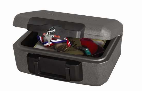 SentrySafe 1210 防火保险箱4.8折 28.12元限时特卖!