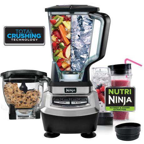 Ninja BL780C Supra 专业厨房搅拌系统 149.99加元包邮!30秒超快速和面!