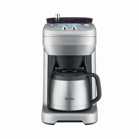 Breville BDC650BSS Grind Control 全自动滴漏式咖啡机6.2折 246.49元限量特卖并包邮!