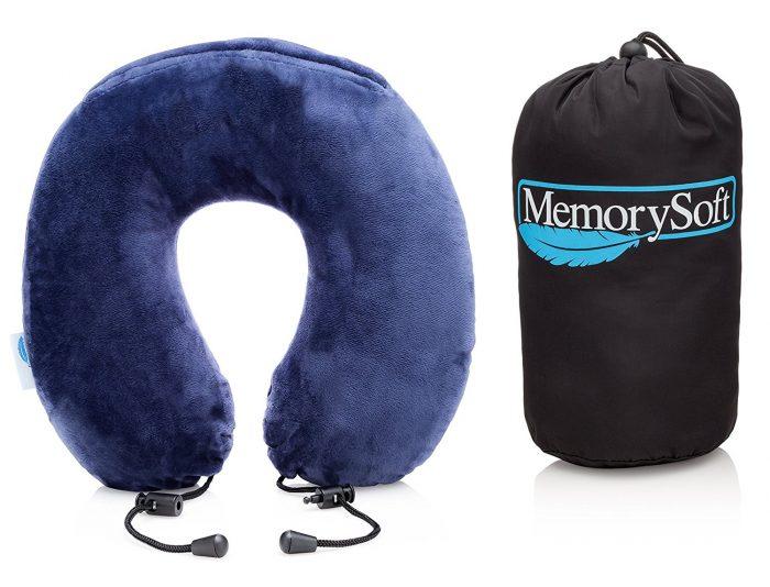 MemorySoft 经典Lite版舒适记忆海绵护颈枕 19.97加元限量特卖!
