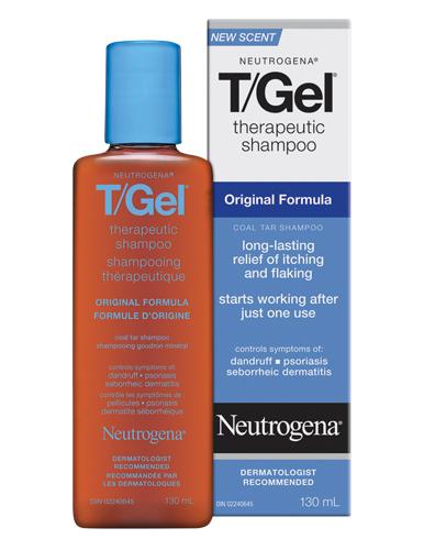 Neutrogena 露得清 T/Gel 杀菌止痒洗发液 250毫升 11.1加元