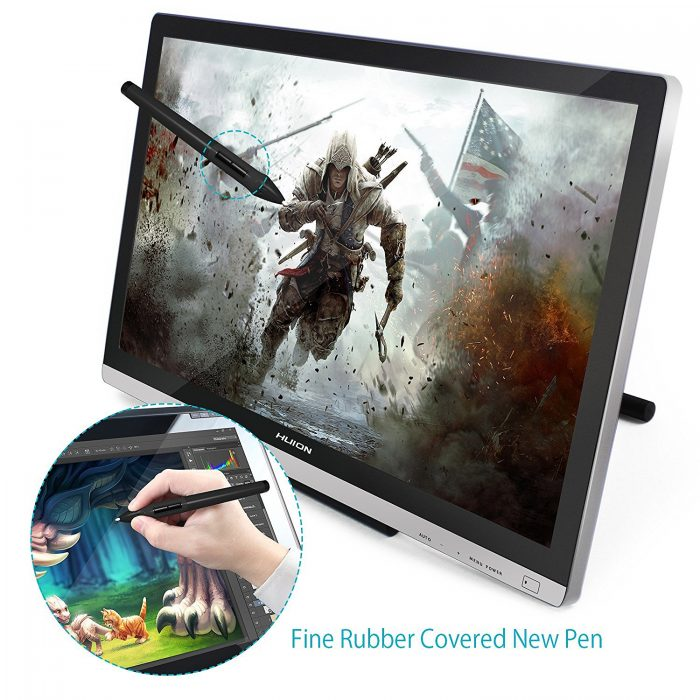 Huion 绘王 GT-220 21.5英寸大屏高清 手绘屏/专业数字绘画屏 527.27-535.77加元限量特卖并包邮!2色可选!