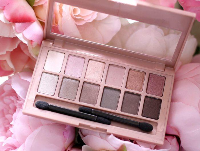 就爱粉美人!Maybelline New York 美宝莲12色裸色眼影盘 11.28加元,原价 17.99加元