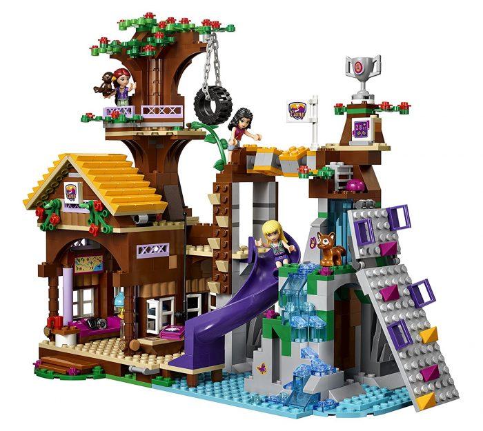 LEGO 乐高朋友系列搭建树屋 63.98元,原价 99.99元,包邮