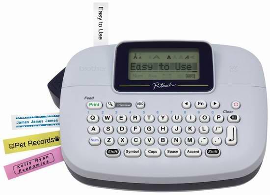 Brother 兄弟 P-touch 普贴趣系列 PT-M95 手持式标签打印机5.4折 19.99加元!