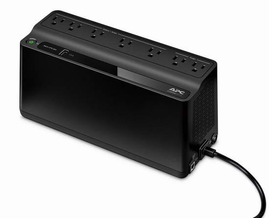 历史新低!APC BE600M1 UPS 不间断备用电源6.4折 58元限时特卖并包邮!仅限今日!