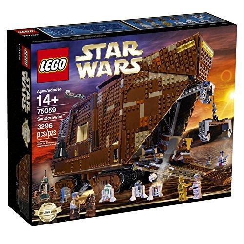 镇宅神器!LEGO 乐高 75059 星球大战系列 沙漠爬行者积木套装(3296pcs) 297.38元限时特卖并包邮!