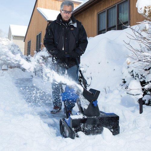 网购周专享!Snow Joe ION18SB-HYB 18英寸 超轻便 充电式40伏 无绳铲雪机 379.99加元包邮!