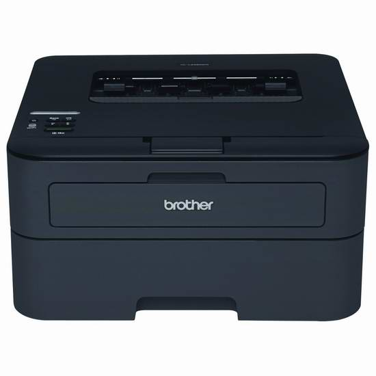 Brother 兄弟 HL-L2360DW 多功能紧凑型无线激光打印机4.5折 89.99元限时特卖并包邮!