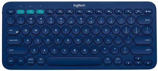 近史低价!Logitech 罗技 K380 多设备通用蓝牙键盘 29.99加元!