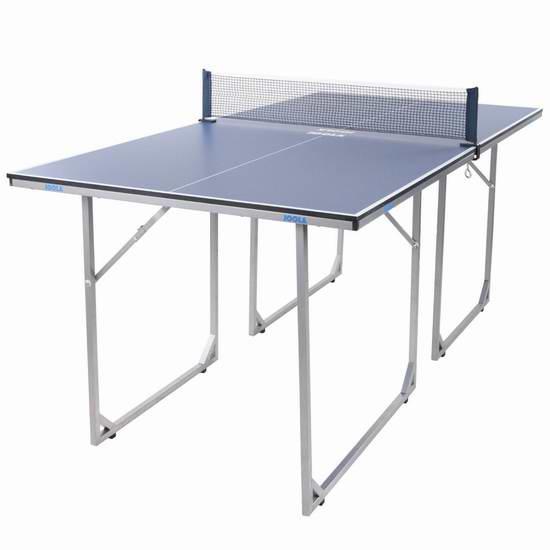 JOOLA 德国优拉 19110 中号折叠式乒乓球桌6.1折 181.98加元包邮!