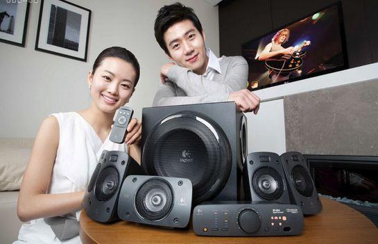 历史最低价!Logitech 罗技 Z906 旗舰级 家庭影院5.1 环绕立体声系统5折 249.99加元包邮!