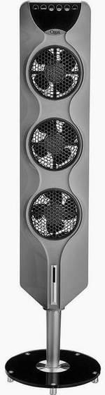 售价大降!历史新低!Ozeri OZF3-W 3X 44英寸塔式静音风扇4折 42.99元限时特卖并包邮!