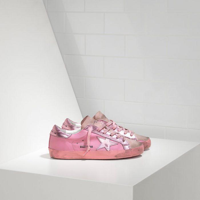 时尚怪圈!Golden Goose 粉色脏脏鞋 294元,原价 640元,包邮,支持直邮中国