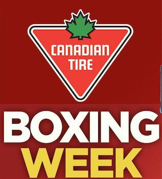 The Canadian Tire Boxing Week 节礼周海报出炉!汇总部分产品!