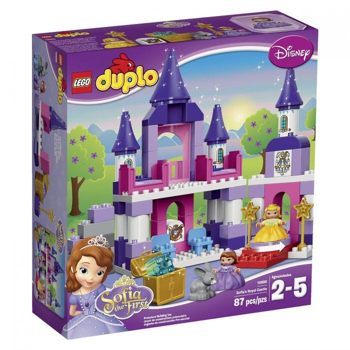 LEGO乐高 DUPLO 10595索菲亚公主城堡 39.97元,原价 66元,包邮