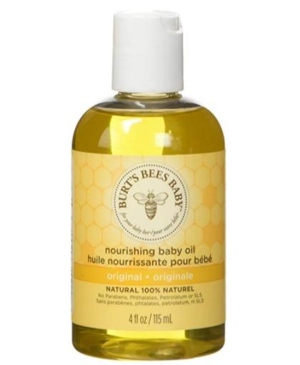 Burt's Bees小蜜蜂天然维生素宝宝润肤油  9.45加元