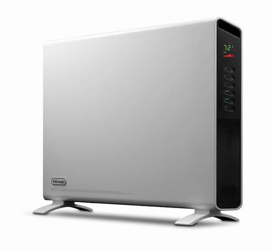 历史最低价!Delonghi 德龙 HCX9115E 超薄 立式/壁挂 电热取暖器6.5折 129.98加元包邮!