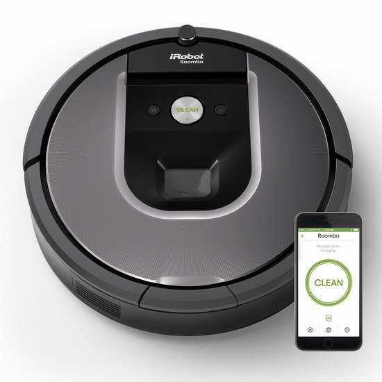 折扣升级!iRobot Roomba 960 旗舰级 智能扫地机器人6.1折 549.99加元包邮!