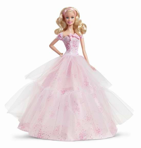 金盒头条:历史新低!Barbie Collector 2016 生日愿望芭比娃娃 24.49元限时特卖!
