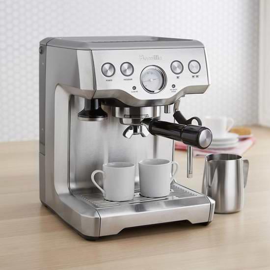 黑五价!Breville BES840XL 半自动意式浓缩咖啡机6.1折 399.99加元包邮!