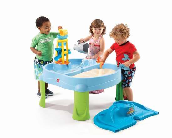 Step2 Splash N 儿童戏水玩沙两用游戏桌套装 49.97加元,原价 79.99加元,包邮