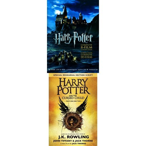 金盒头条:精选4款《Harry Potter 哈利波特》DVD/蓝光影碟全集+《哈利波特》或《神奇动物在哪里》剧本套装 45.99-59.99元限时特卖并包邮!