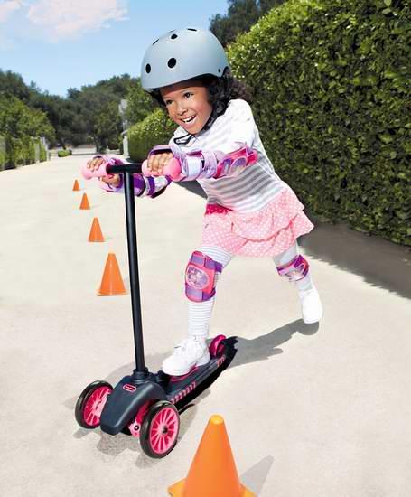 Little Tikes 小泰克 Lean to Turn 儿童三轮滑板车 39.95加元包邮!