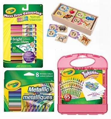 金盒头条:精选23款 Crayola、Melissa & Doug 彩色画笔、木质玩具等3.3折起限时特卖!
