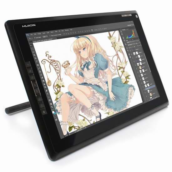 Huion 绘王 GT-185 18.4英寸绘王GT-185专业液晶数位手绘屏 334.22加元限量特卖并包邮!