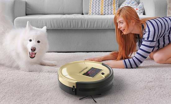 近史低价!bObsweep PetHair 宠物版智能扫地拖地杀菌机器人4.9折 252.99加元包邮!