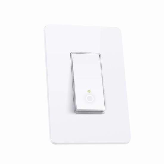 历史最低价!TP-LINK HS200 入墙式 Wi-Fi 智能开关3.8折 19.98加元!