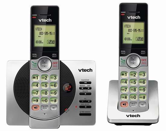近史低价!VTech 伟易达 DECT 6.0 CS6929-2 无绳电话系统 39.99加元包邮!