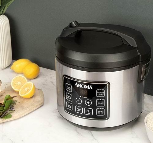 Aroma ARC-150SB 20杯多功能数字电饭煲 7.4折 59加元,原价 79.99加元,包邮
